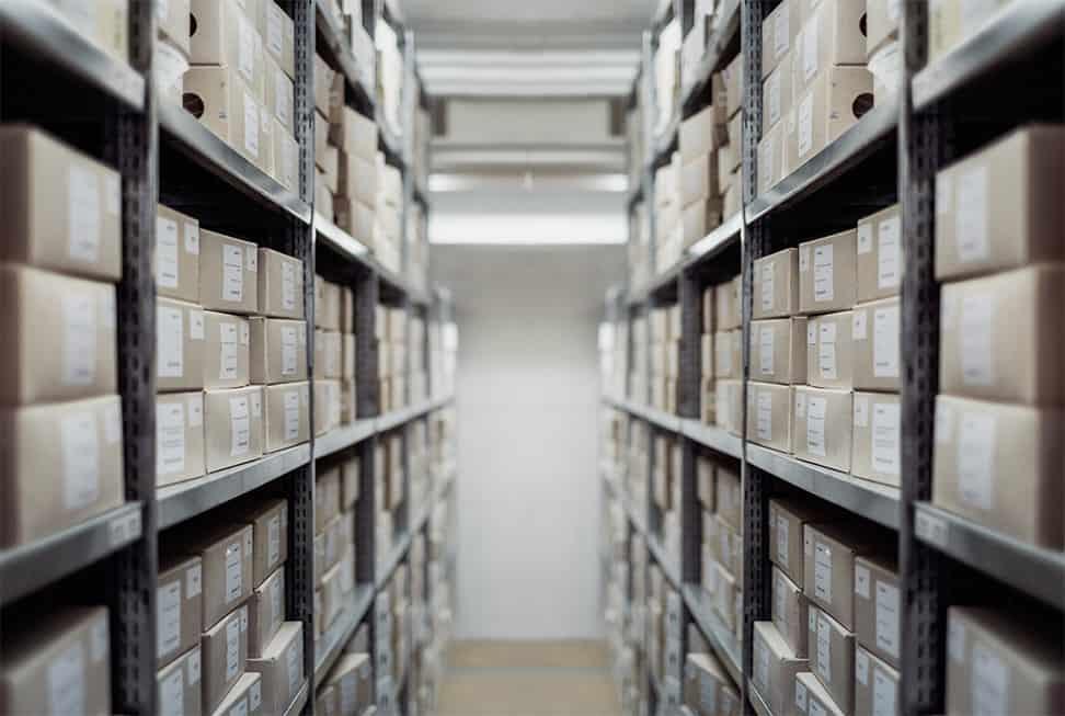 Druckplatten Archivierung