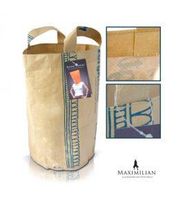 Einkaufstaschen Kunststoff mit Kraftpapier