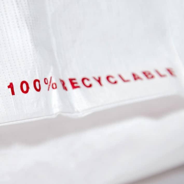 Taschenmaterial PE-HD Tyvek