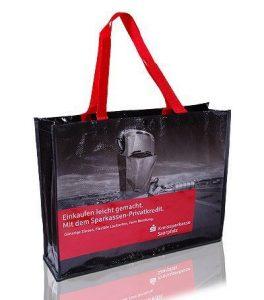 Werbetaschen aus recycelten Kunststoffen
