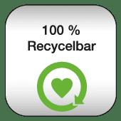 Werbetaschen aus recycelbaren Kunststoffen